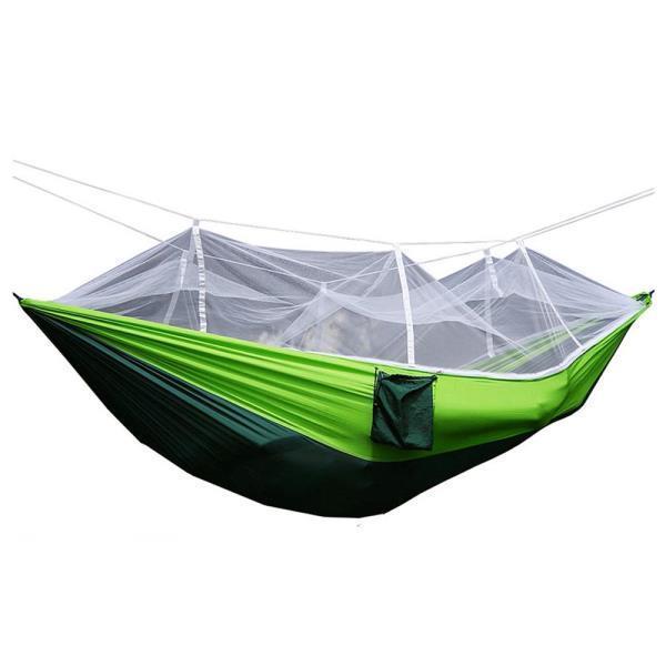 캠핑가구 해먹 캠핑 해충차단 낭만 모기장 침대 해먹(그린다크그린)