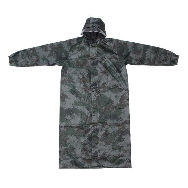 작업용 밀리터리 롱 레인코트 XXXL 성인우비 비옷