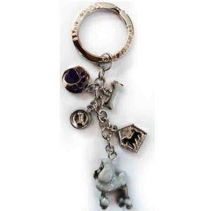 (퍼셀) 열쇠고리-푸들 강아지 인식표