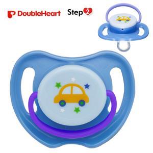 더블하트 노리개젖꼭지 2단계 (자동차) (3개월부터)