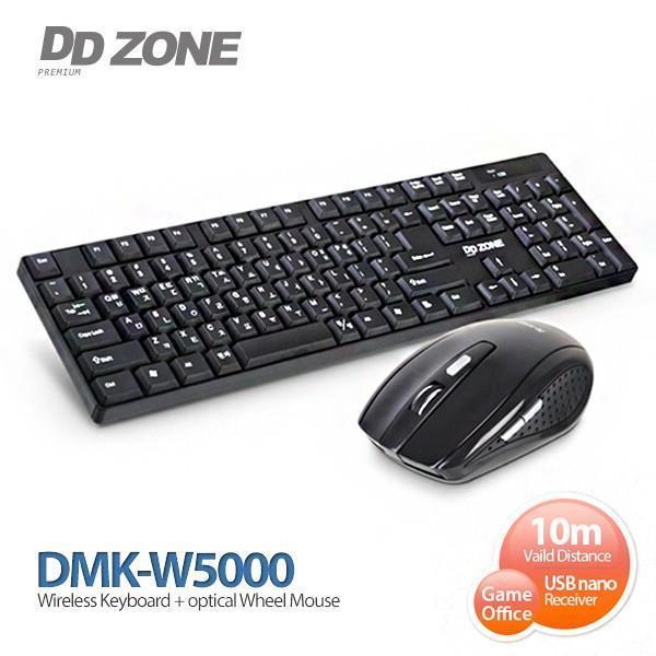 DDZONE 무선 키보드 마우스 셋트 (DMK-W5000)