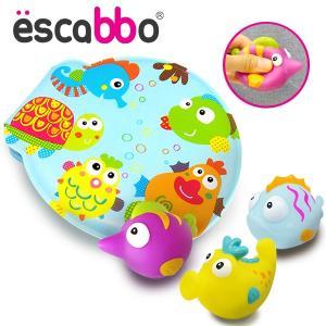 에스까보 말랑말랑 아기목욕놀이 책 4pcs