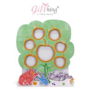 Gifthing 행복해지는 아기 돌잔치 액자 (사과나무)