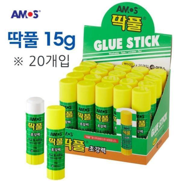 아모스 딱풀 15g 1박스 (20개입)