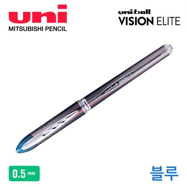 비젼 수성펜 0.5mm 1다스 (블루)