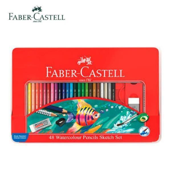파버카스텔 수채화 색연필 48색 세트