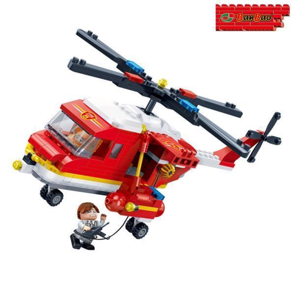 (블록) 소방 헬리콥터 (BO7128)
