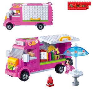 (블록) 아이스크림트럭 (BO6117)