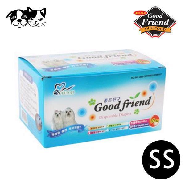 기저귀 초소형견용 (SS) (강아지 기저귀)