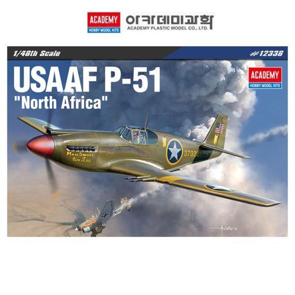 1대48 미육군항공대 P-51 북아프리카 전선