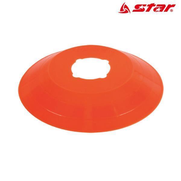 접시콘 (형광주황) (낱개) (SA311)