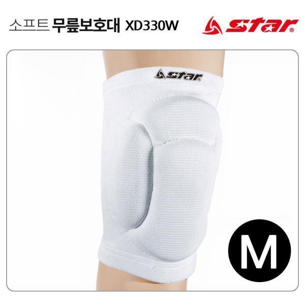 무릎보호대 (화이트) (M) (XD330W)