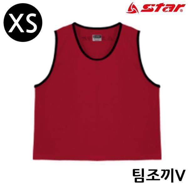 팀조끼 V (X-all) (레드)