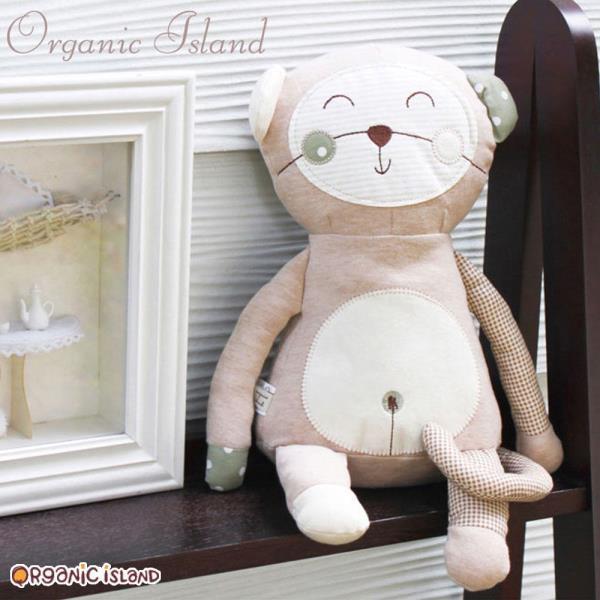 오가닉아일랜드 몽키 인형 32cm