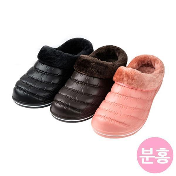 털 실내화 (분홍) (택1)