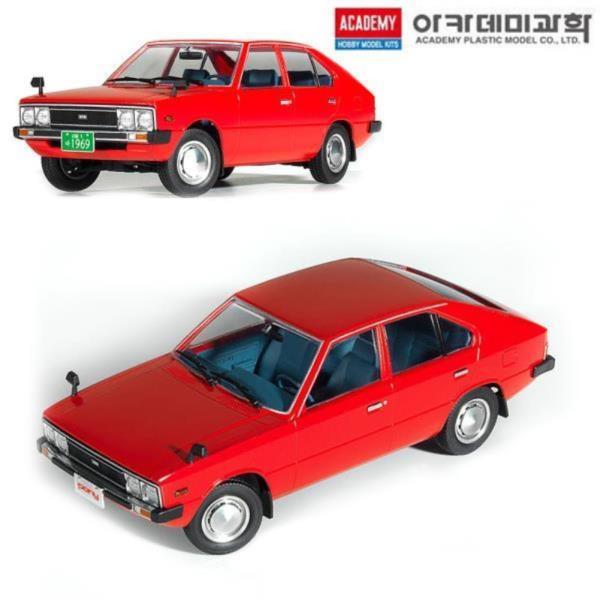 1대24 현대자동차 포니 프라모델