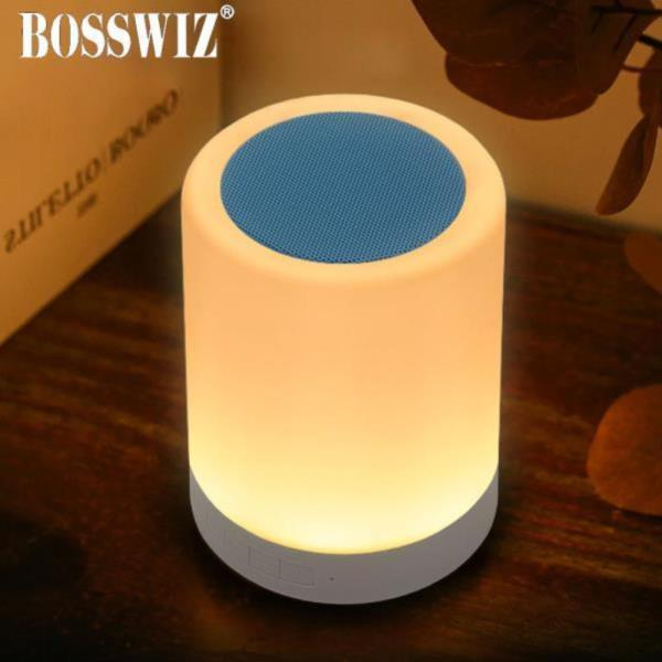 LED 터치 무드등 휴대용 블루투스 스피커