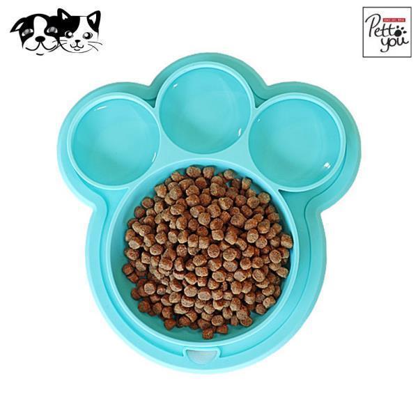 파우 실리콘 식기 (민트) (강아지 식기)
