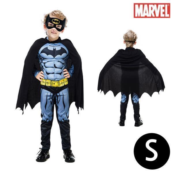 한중 배트맨 고급형 코스튬 3종세트 (S)
