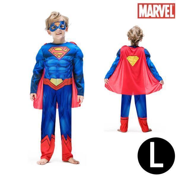 한중 슈퍼맨 고급형 코스튬 3종세트 (L)