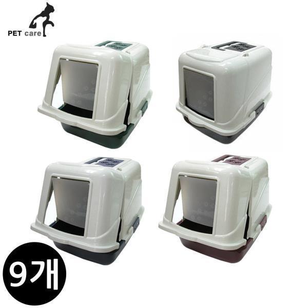프론트오픈 화장실 L08 (9개입)(랜덤발송)