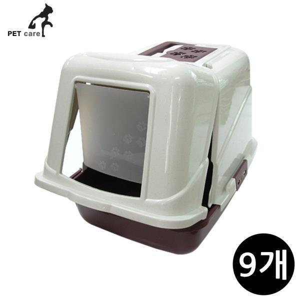 프론트오픈 화장실 레드 (L08) (9개입)