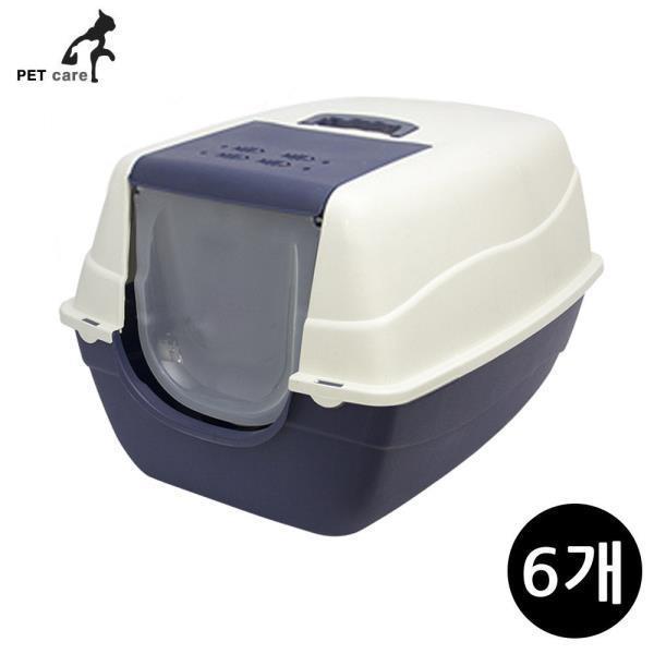 초대형 고양이 화장실 블루 (6개입)