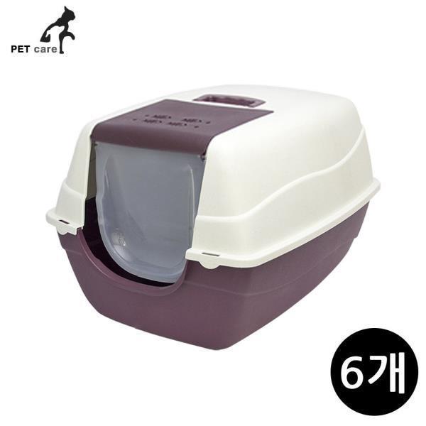 초대형 고양이 화장실 레드 (6개입)