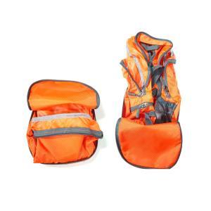 (오렌지) 접이식 배낭 등산 가방 여행용 백팩
