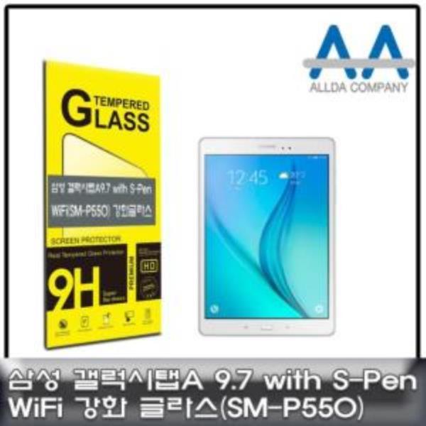 갤럭시탭A 9.7 with S-Pen Wi-Fi(SM-P550) 강화글라스