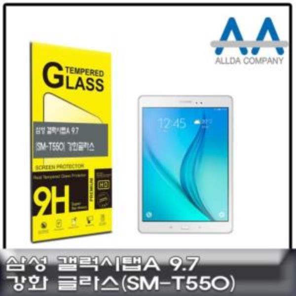 갤럭시탭A 9.7 강화글라스(SM-T550)/강화Glass/ALLDA