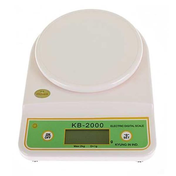 경인디지털주방저울-2KG KB-2000