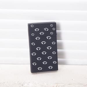 ABM 실리콘 담배케이스 (블랙-눈모양) 슬림