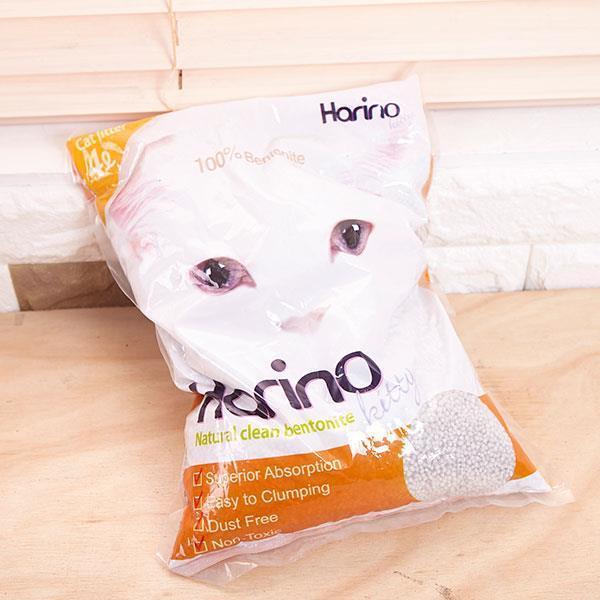 고양이 4리터 3kg 응고형 화장실 냄새와 먼지 제거기능 천연 벤토나이트 배변 모래