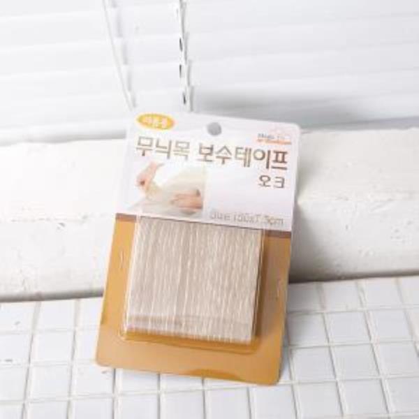 무늬 목 테이프-보수 오크
