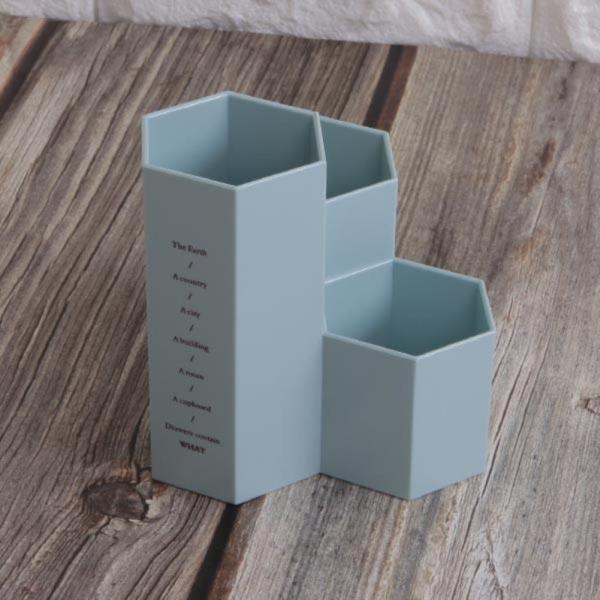 ABM(C)육각다용도연필꽂이 블루