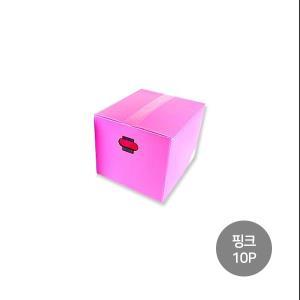 피피박스 (소) 핑크 10p