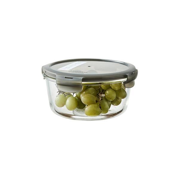락앤락 오븐글라스 유로 내열 밀폐 원형 950ml (그레이)