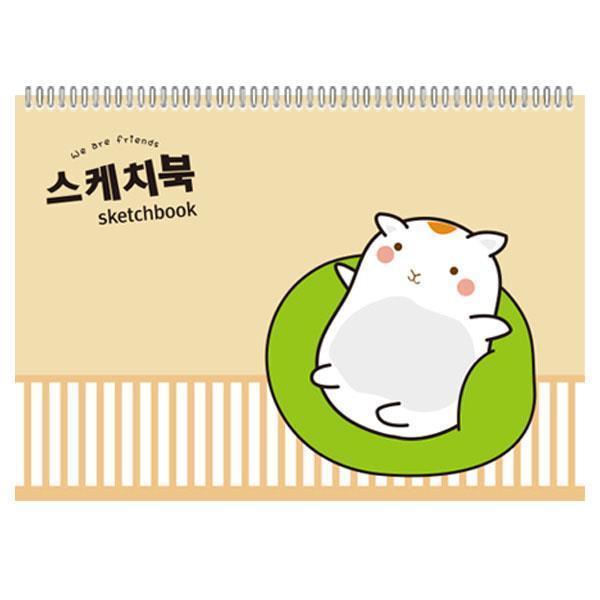 1000 초등 스케치북 10권(색상랜덤)