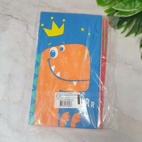 ABM 공룡 각대 선물봉투 20매입(색상랜덤)
