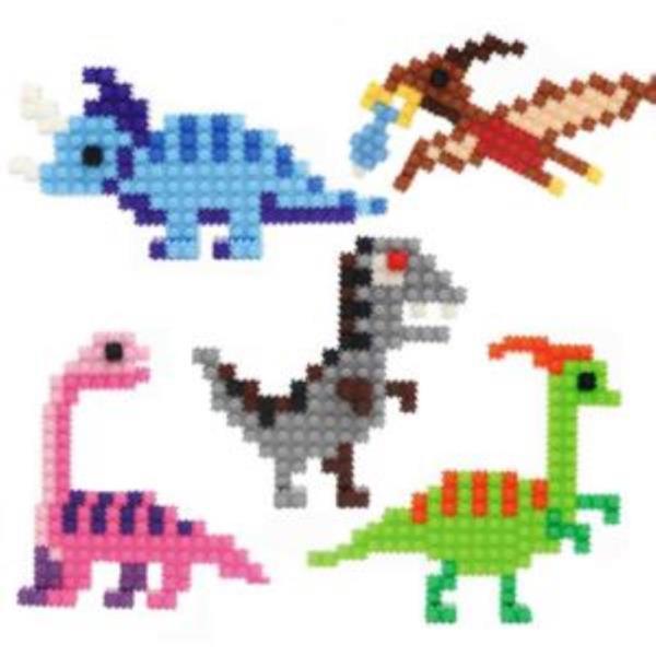 이지피아 툭툭블럭 공룡만들기