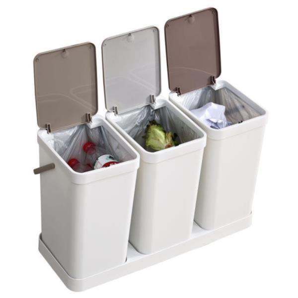원터치 트리플 분리형 쓰레기통