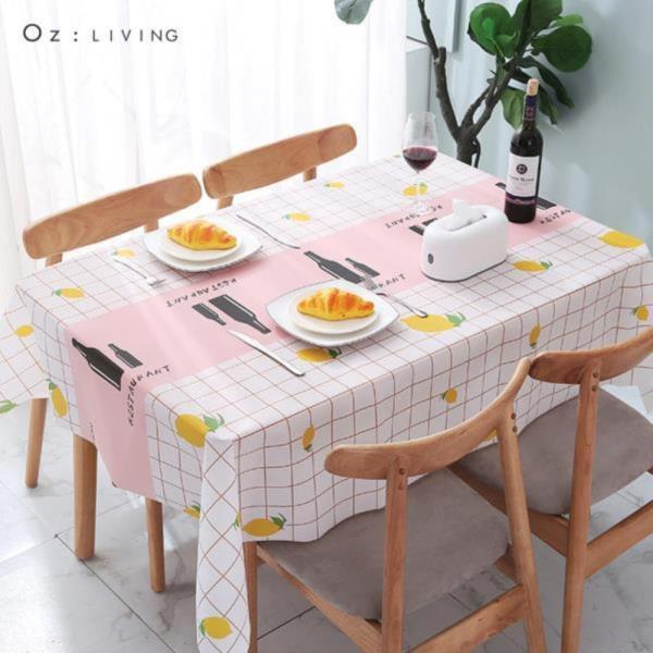 오즈리빙 방수식탁보137*152 캠핑용 테이블보 식탁보☆