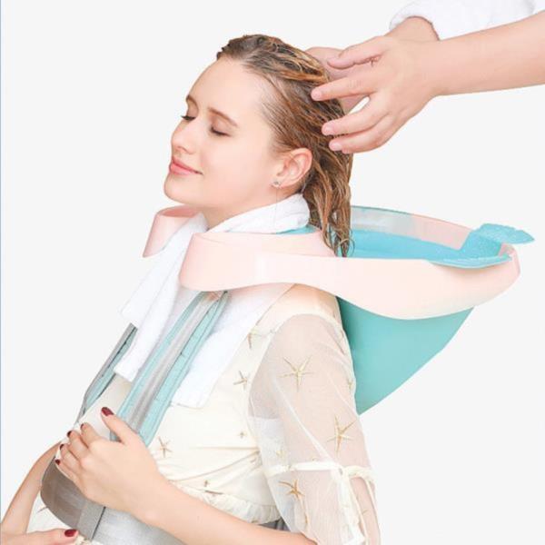 접이식 머리감기 환자 노인 임산부 세발기 머리감기기