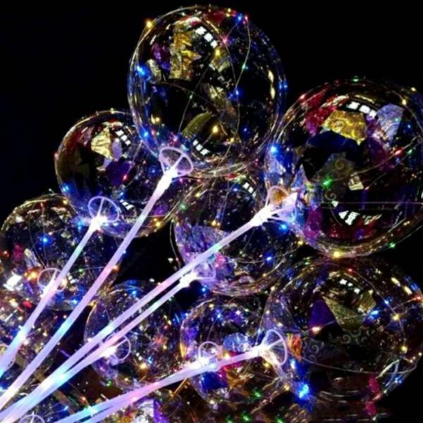 벌룬라이트 파티풍선 LED풍선 이벤트풍선 라이트풍선