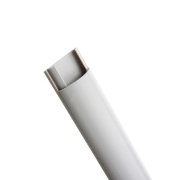 전선몰딩 반달 회색소 2개입