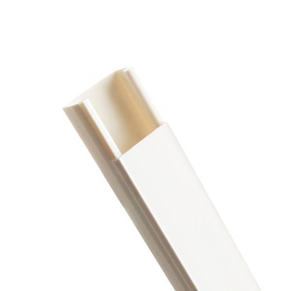전선몰딩 사각 흰색중 2개입