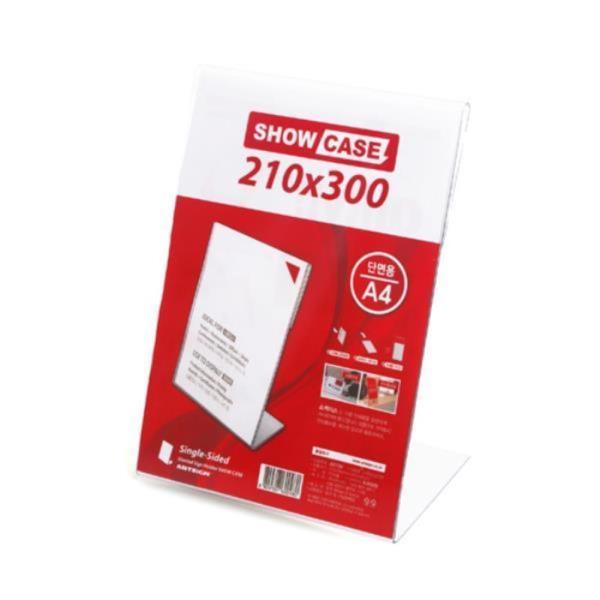 쇼케이스 A4 단면 세로  210x300x1.8