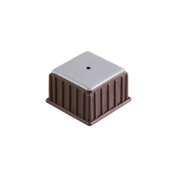 의자캡 사각 갈색 테프론 37X26X28