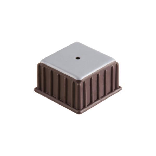 의자캡 사각 갈색 테프론 45X27X36